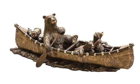 bear canoe